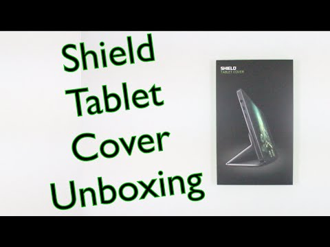 NVIDIA Shield Tablet Cover Unboxing