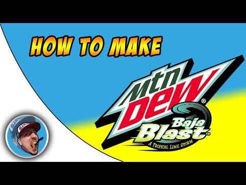 How To Make Baja Blast!
