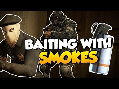 CS:GO Quick Tips - Baiting with Smokes