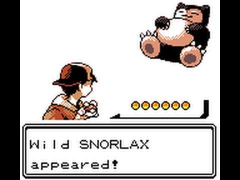 Pokémon Crystal - Catching Snorlax