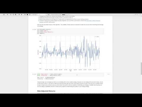 Quantopian Lecture Series: Leverage