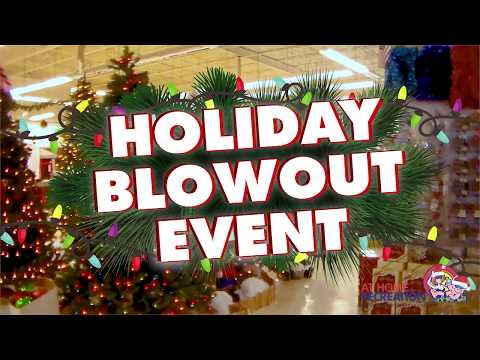 At Home Recreation, LLC- 2017 Christmas Blowout Sale