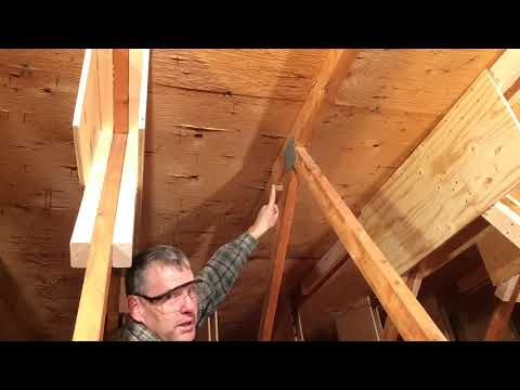 Attic Truss Repair #10: Nemesis! (Truss 8)