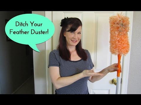 Ditch your feather duster. Microfiber is where it's at!