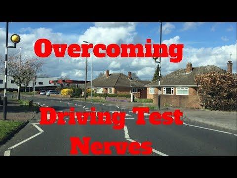 Overcoming driving test nerves