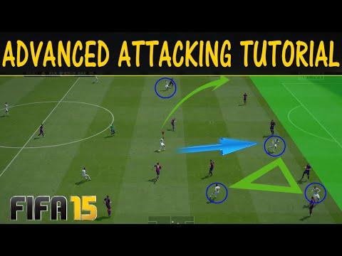 FIFA 15 FULL ATTACKING TUTORIAL / THE TARGET MAN TECHNIQUE + Tiki-Taka Style / Advanced Tricks