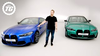 FIRST LOOK: New 2020 BMW M3 & M4 feat. 4WD, 503bhp, 'Drift' Mode & *THAT* Grille | Top Gear
