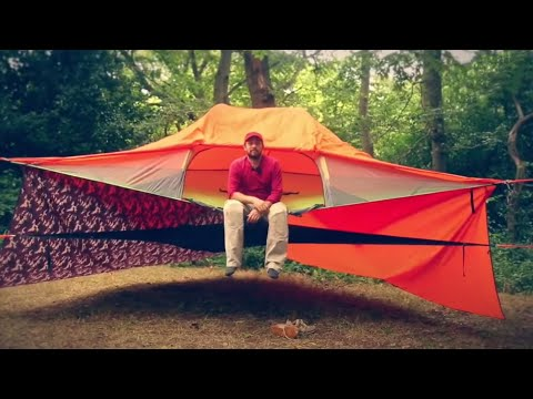 How to create a Tentsile Stack - A multi-layered suspended Tent