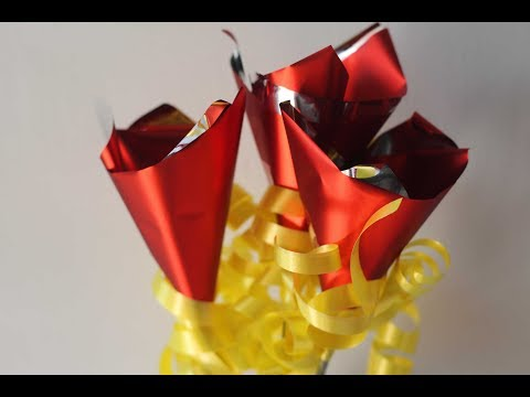 How to make chocolate bouquet @home - easy tutorial
