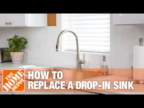 How To Replace a Drop-In Kitchen Sink - The Home Depot