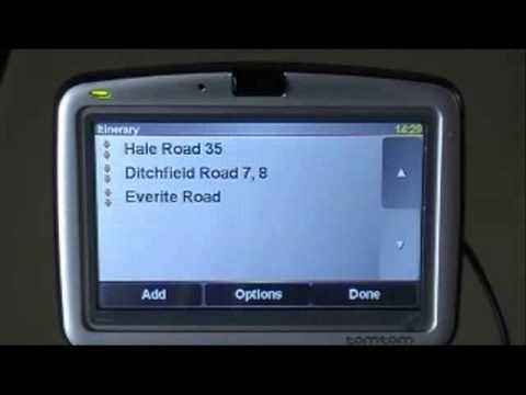 Program Driving Test Route into A Tom Tom Sat Nav..wmv