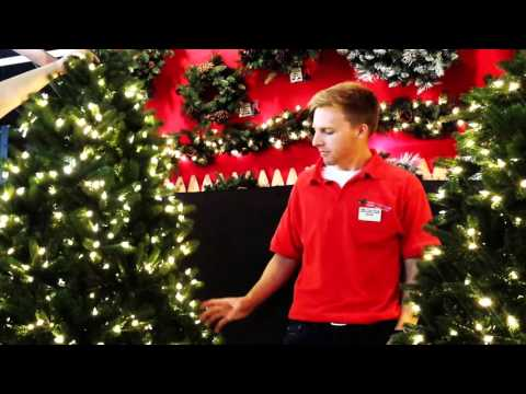 Artificial Christmas Tree demo