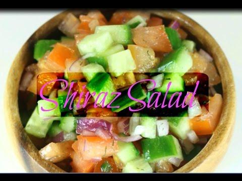 Shiraz Salad Recipe - How to make Salad Shirazi _ International Cuisine