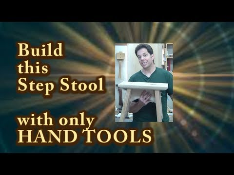Hand Tools ONLY Step Stool