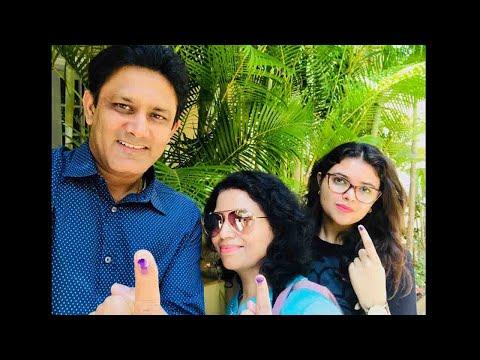 Karnataka Election : Rahul Dravid, Anil Kumble casts their vote | OneIndia News