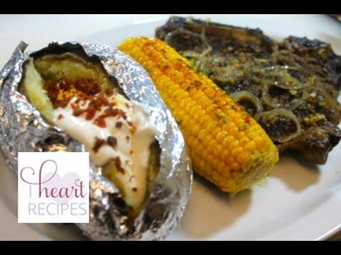 Dinner For Two : Garlic Steak Dinner - I Heart Recipes