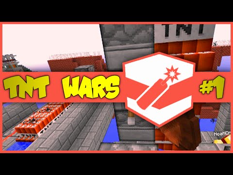 Minecraft | TNT WARS #1 | The Best TNT Cannon In Minecraft! | VS The Pack (Minecraft TNT Battles)