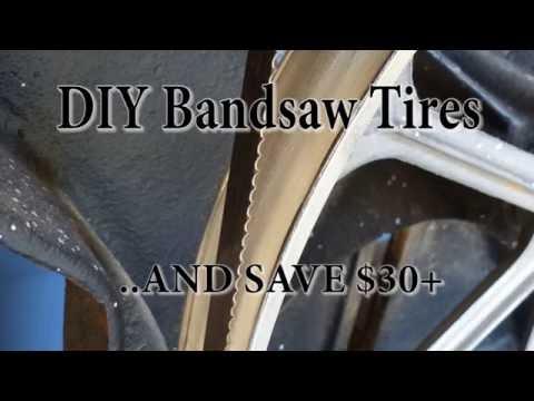 DIY Bandsaw Tires (Save $30!)