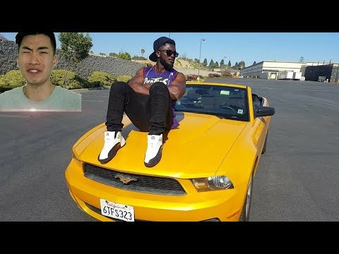 TYRONE IS LOOKING FOR RICEGUM IN LA