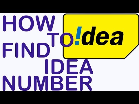 How To Find Your Own Mobile Number For IDEA customers