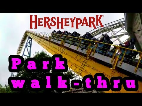 HERSHEYPARK (full park walk-thru) HD, 60fps