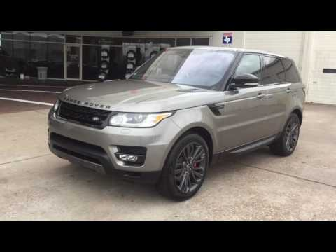 2017 Range Rover Sport V8 in Silicone Silver