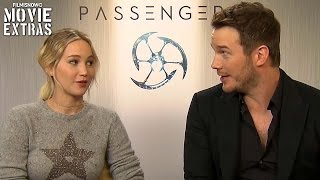 Passengers (2016) Jennifer Lawrence & Chris Pratt talk about their experience making the movie
