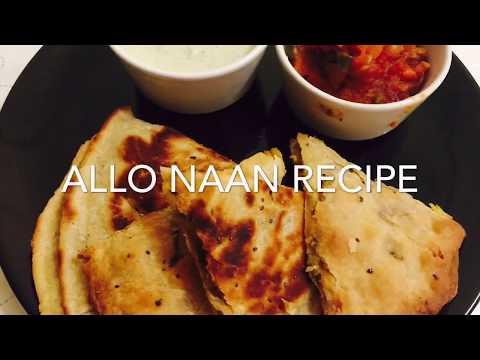 Allo Naan Recipe / stuffed potato Bread