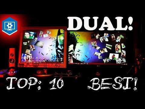 Best dual-screen wallpapers, wallpaper-engine. under 2.15 min. !