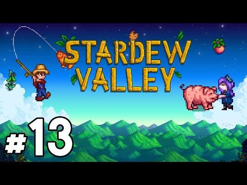 Stardew Valley (PC) - Episode 13 [River Fishing] | Stardew Valley Gameplay
