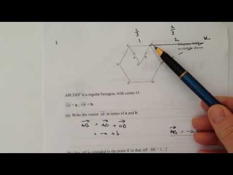 Q1 Maths Vectors - GCSE Mathematics