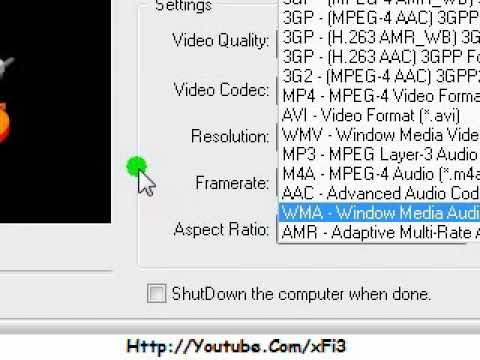 Best Converter (3GP, AVI, MP3, MP4, WMV, WMA)