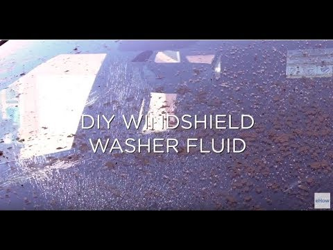 DIY Windshield Washer Fluid