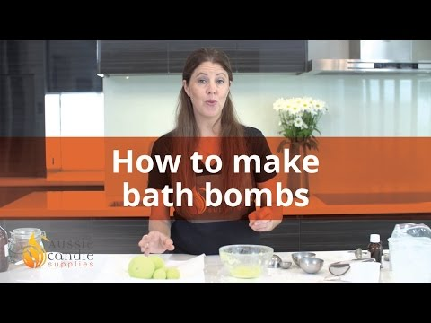 How to make Bath Bombs: Step by Step Instructions