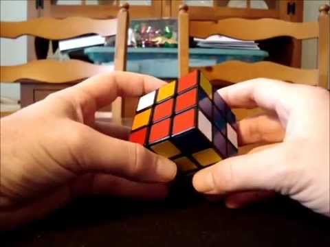 Solve Rubik's Cube without memorization - Part 2 - Keyhole method for solving middle layer edges