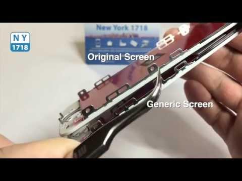 iPhone 5s Screen Comparison: Original Vs. Generic