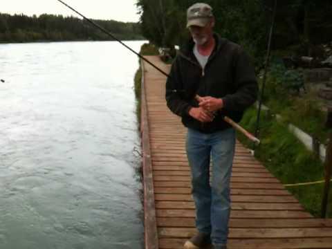 Salmon Fishing Day 2-Hot Food Buffet in Alaska
