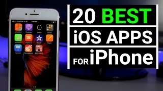 TOP 20 BEST iOS APPS for iPhone 2017 | MUST HAVE