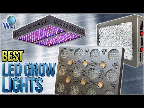 10 Best LED Grow Lights 2018