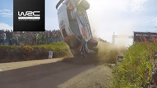 WRC 2 - Vodafone Rally de Portugal 2017: CRASH Quentin Gilbert