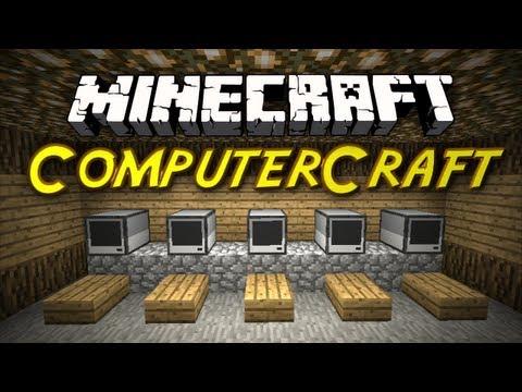 Minecraft Mod Showcases - ComputerCraft Mod!