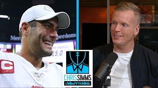 NFL Week 14 Game Review: 49ers vs. Saints | Chris Simms Unbuttoned | NBC Sports
