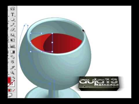 Illustrator copa en 3d modelado - video tutorial