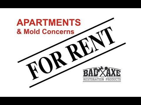 Apartments and Mold Concerns by Bad Axe Restoration Products