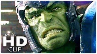 THOR RAGNAROK: Hulk vs Thor Clip Italiano (2017)