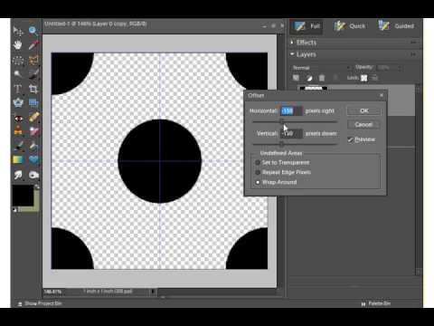 Digital Scrapbooking Designer - Creating Polka Dot Papers (Part 3)