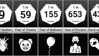 Probability Comparison: Phobias and Fears