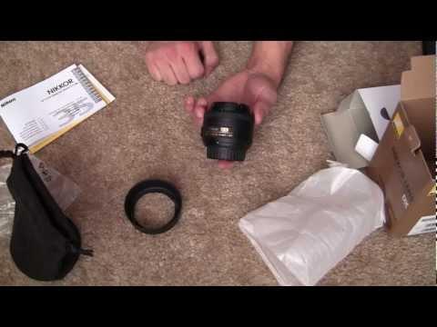 Unboxing: Nikon 35mm DX Nikkor Prime Lens