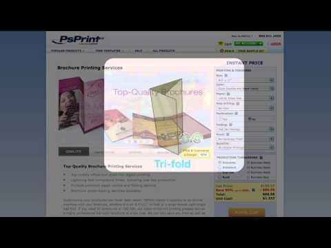 Brochure Folding Options Explained