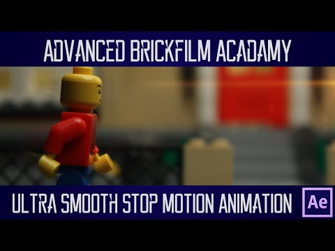 LEGO Ultra Smooth Stop Motion (After Effects Frame Blending Tutorial) : Advanced Brickfilm Academy
